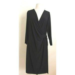 Ann Klein Wrap Dress XL